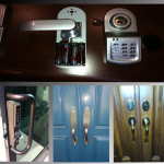 electrical keypad lock plus design lock